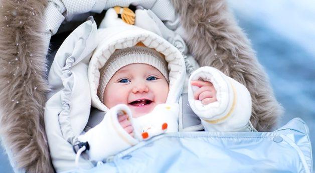 Kışın çocuk giydirmek