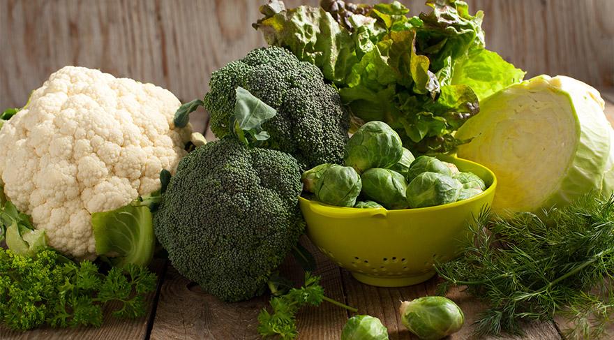 Kanser savaşçıları: Brokoli-Lahana-Marul